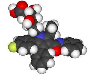 Atorvastatin-3D-molecule