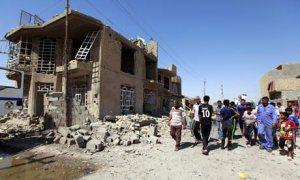 Car bomb attack in Taji, Iraq