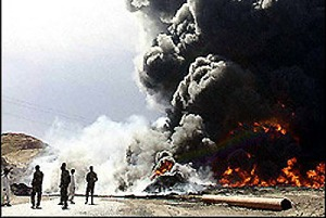 iraq-oil sabotage