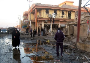 At least nine killed in Iraq twin bombing