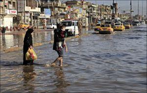Mideast-Iraq-heavy-rains