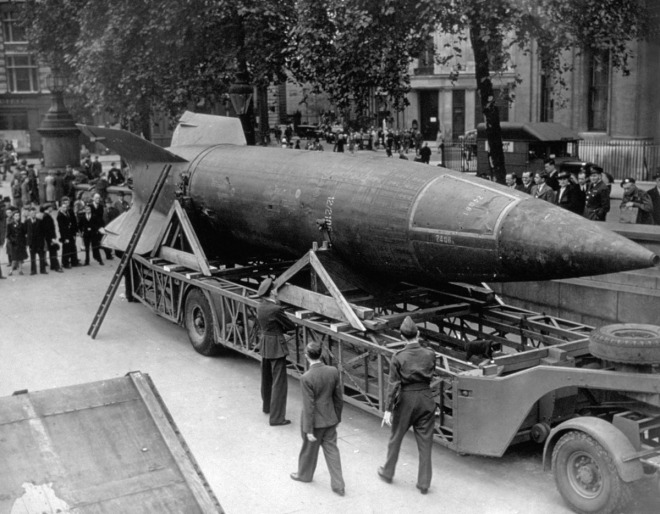 FILE PHOTO: 70 Years Since The V-2 Rocket First Flew