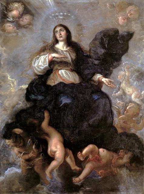Carreno de Miranda, Assumption of Virgin c1657