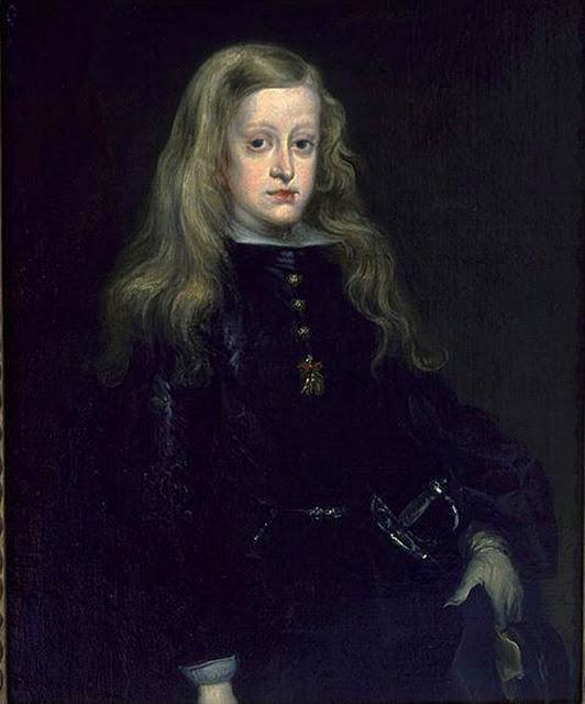 Carreno de Miranda, King Charles II of Spain c1650