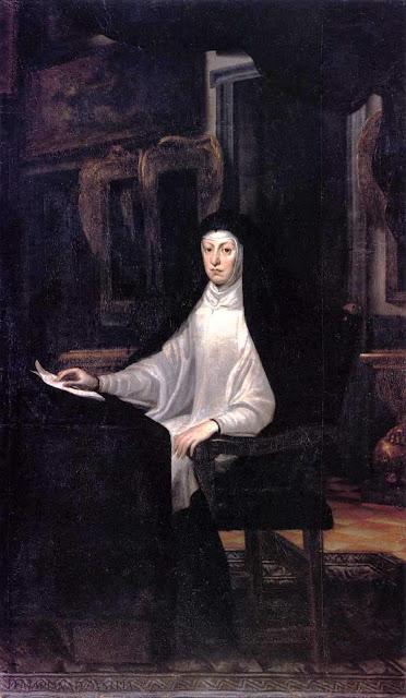 Carreno de Miranda, Queen Mariana de Austria 1678