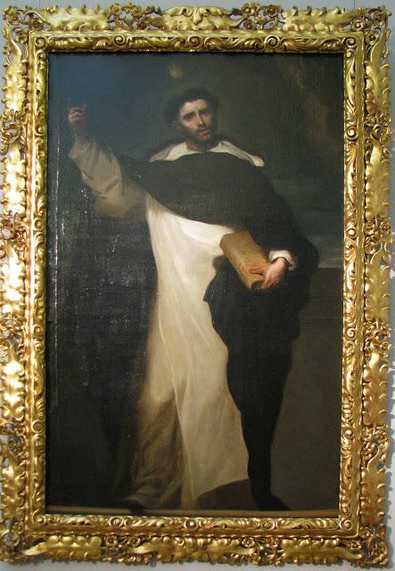 Carreno de Miranda, St Vincent Ferrer c1660 Buda
