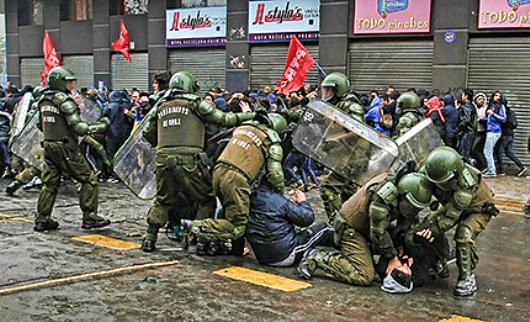 Chile-represion