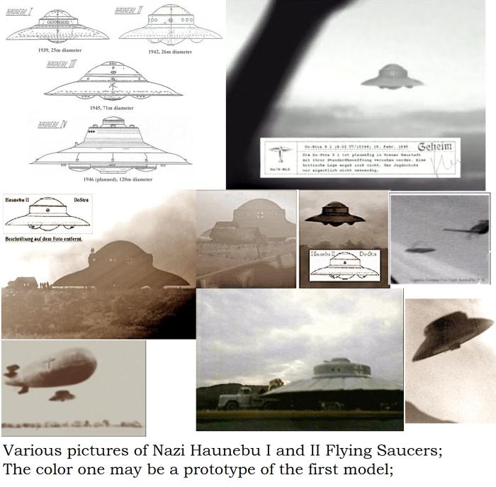 Nazi UFO Haunebu